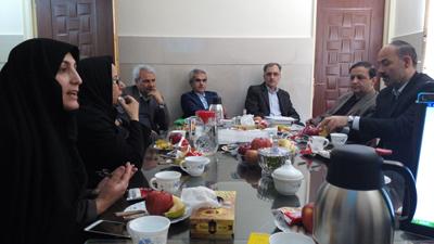 نهمین جلسه واحد برنامه ریزی درسی مرکز مطالعات و آموزش علوم پزشکی برگزار شد