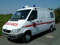 زایمان یک زن باردار در آمبولانس اورژانس نیاسر