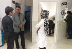 رئیس دانشگاه از مراکز درمانی دانشگاه بازدید کرد