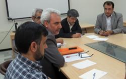 نشست رییس دانشگاه با اعضای هیات علمی دانشکده پزشکی