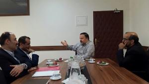 رییس دانشگاه با معاون فرهنگی دانشجویی وزارت بهداشت دیدار کرد