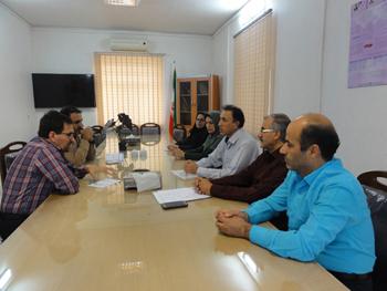 نشست های جداگانه معاون آموزشی دانشگاه با حوزه زیرمجموعه این معاونت