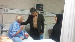 بازدید معاون درمان دانشگاه از مراکز درمانی در ایام نوروز