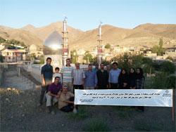 راهپیمایی گروه کوهنوردی دانشگاه برگزار شد