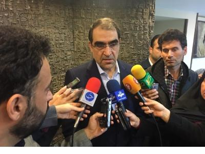 وزیر بهداشت در جمع خبرنگاران در مراسم بزرگداشت روز پرستار