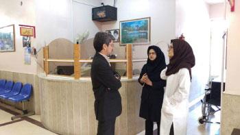 بازدید رییس دانشگاه علوم پزشکی کاشان