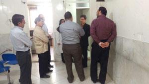 بازدید رییس دانشگاه از پایگاه های سلامت جامعه سپهری و نواب کاشان