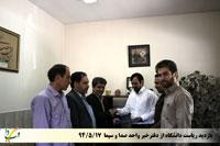 بازدید از دفتر خبر واحد صدا وسیما
