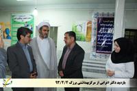 بازدید دکتر اعرابی ازمرکز بهداشتی برزک