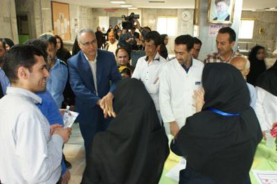 جشن بهداشت دست در بیمارستان شهید بهشتی برگزار شد