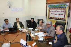 برگزاری کار گروه سلامت و امنیت مواد غذایی شهرستان آران و بیدگل