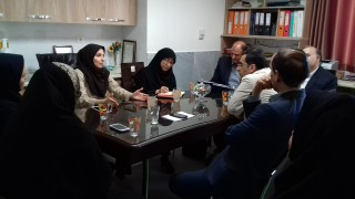 هم اندیشی با اساتید گروه اهداء جنین و برنامه نازایی در دفتر مدیریت پیوند وزارت بهداشت