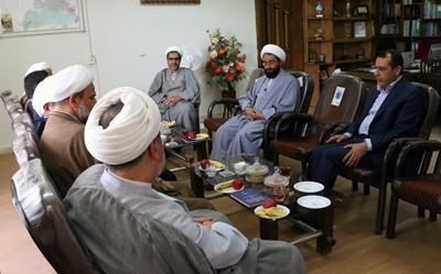 دیدار سرپرست دانشگاه با روحانیون مسئول در ارگان های مختلف